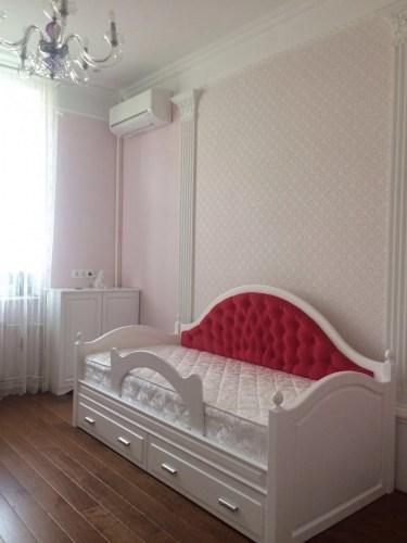 Кровать Арабелла из массива