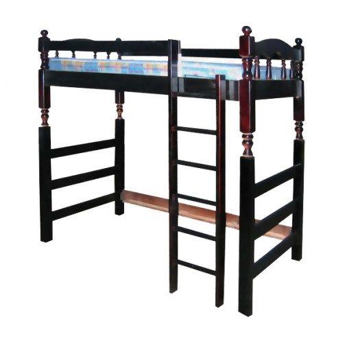 Кровать двухъяруснaя Чердак из массива